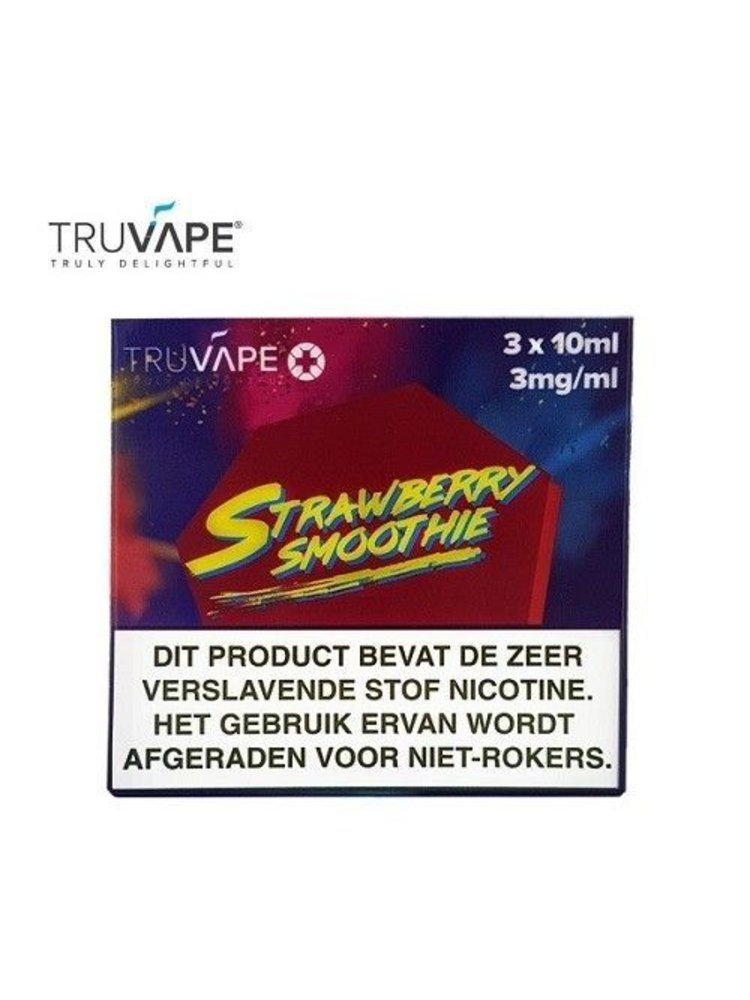 Truvape strawberry smoothie ( 3 stuks )