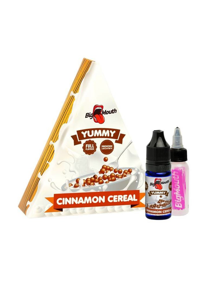 Big mouth cinnamon cereal