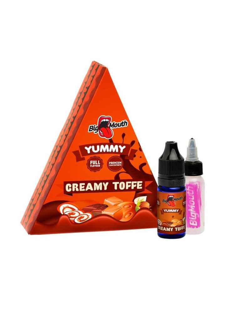 Big mouth creamy toffee