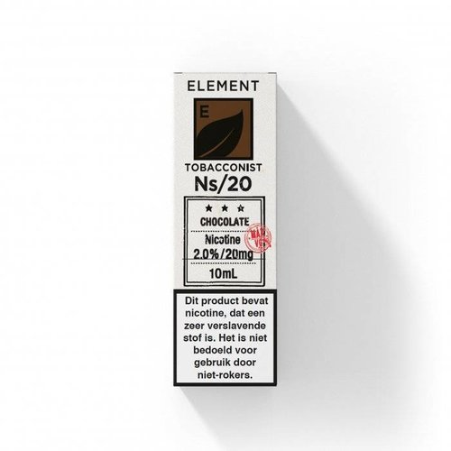 Element nic salts chocolate tobacco