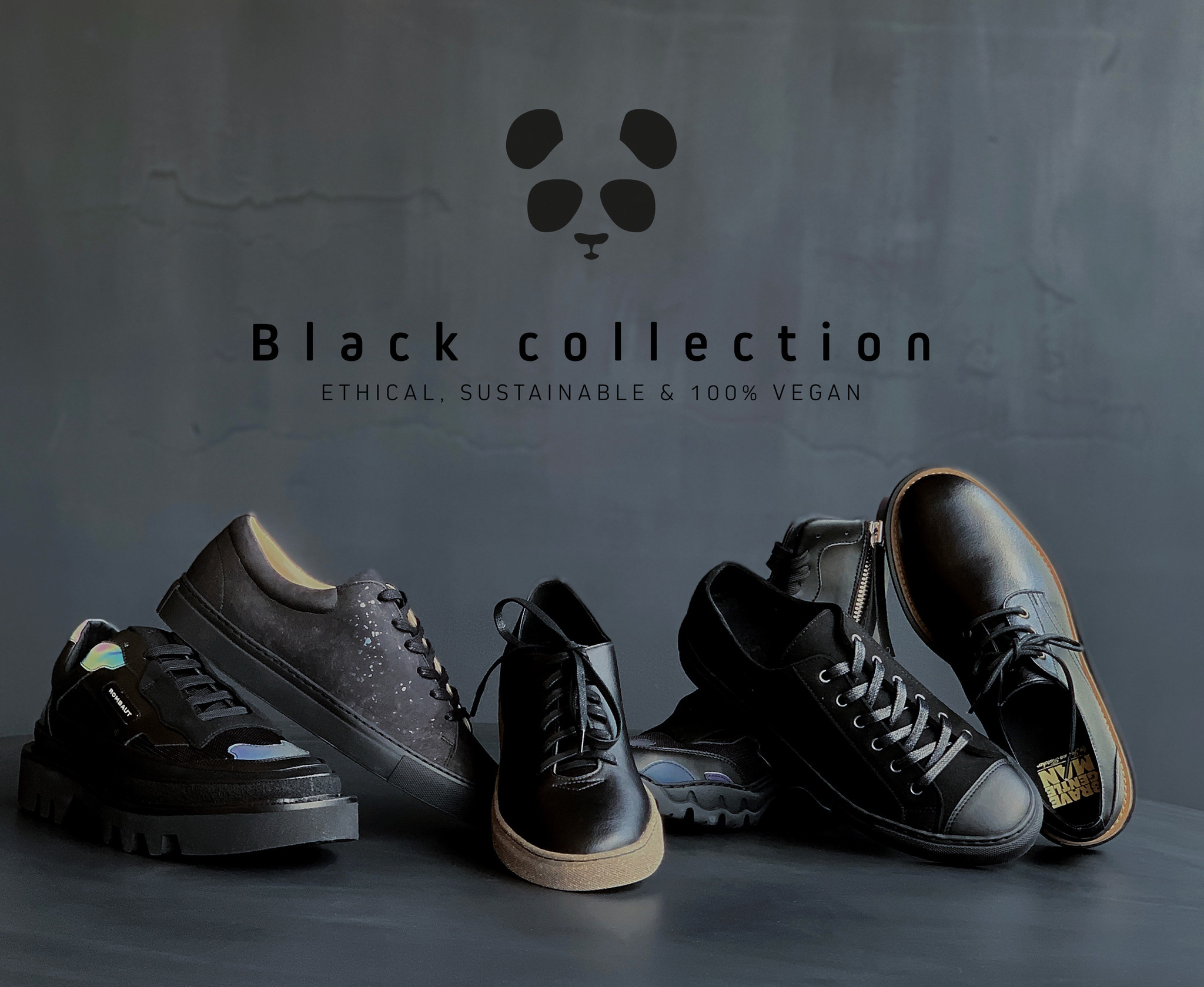 Black, sustainable, ethical and 100% vegan!