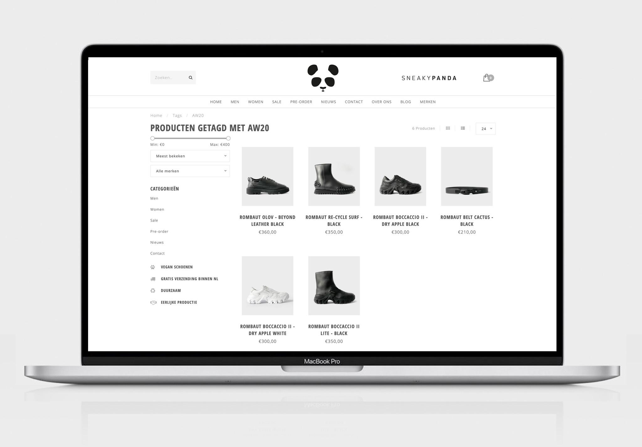 Rombaut AW20 Collectie Online!