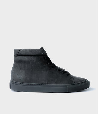 Sydney Brown Sneaker High - Charcoal