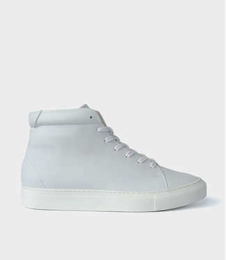 Sydney Brown Sneaker High - White