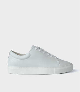 Sydney Brown Sneaker Low - White