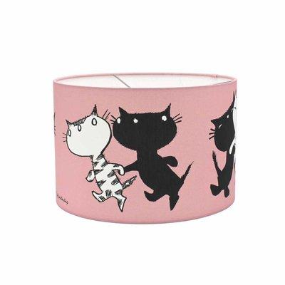 Hanglamp 'Pim en Pom' - roze