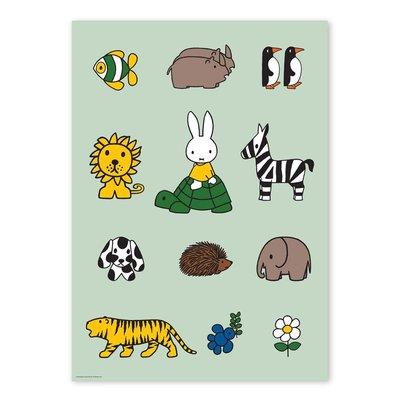 Kek Amsterdam Poster Nijntje, dieren