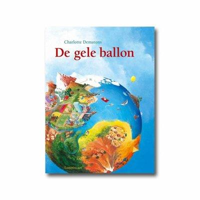 De gele ballon, Charlotte Dematons, karton