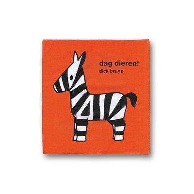 Mercis Dag dieren! - stoffen knisperboekje
