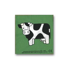 Mercis Dag dieren! - stoffen knisperboekje - Dick Bruna