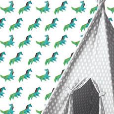 Kek Amsterdam Dinobehang 'Tangram Dino' - Martijn van der Linden
