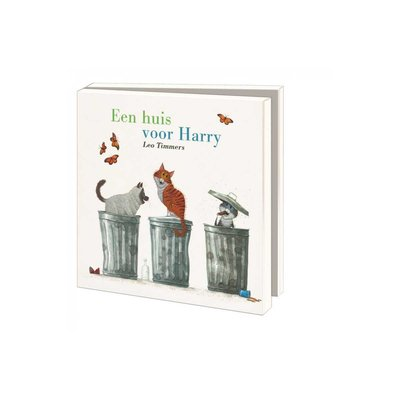 Bekking & Blitz Ansichtkaartenmapje, Een huis voor Harry - Leo Timmers