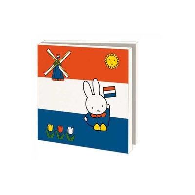 Bekking & Blitz Ansichtkaartenmapje, Nijntje - Holland - Dick Bruna
