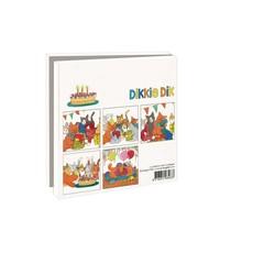 Bekking & Blitz Ansichtkaartenmapje, Feest - Dikkie Dik