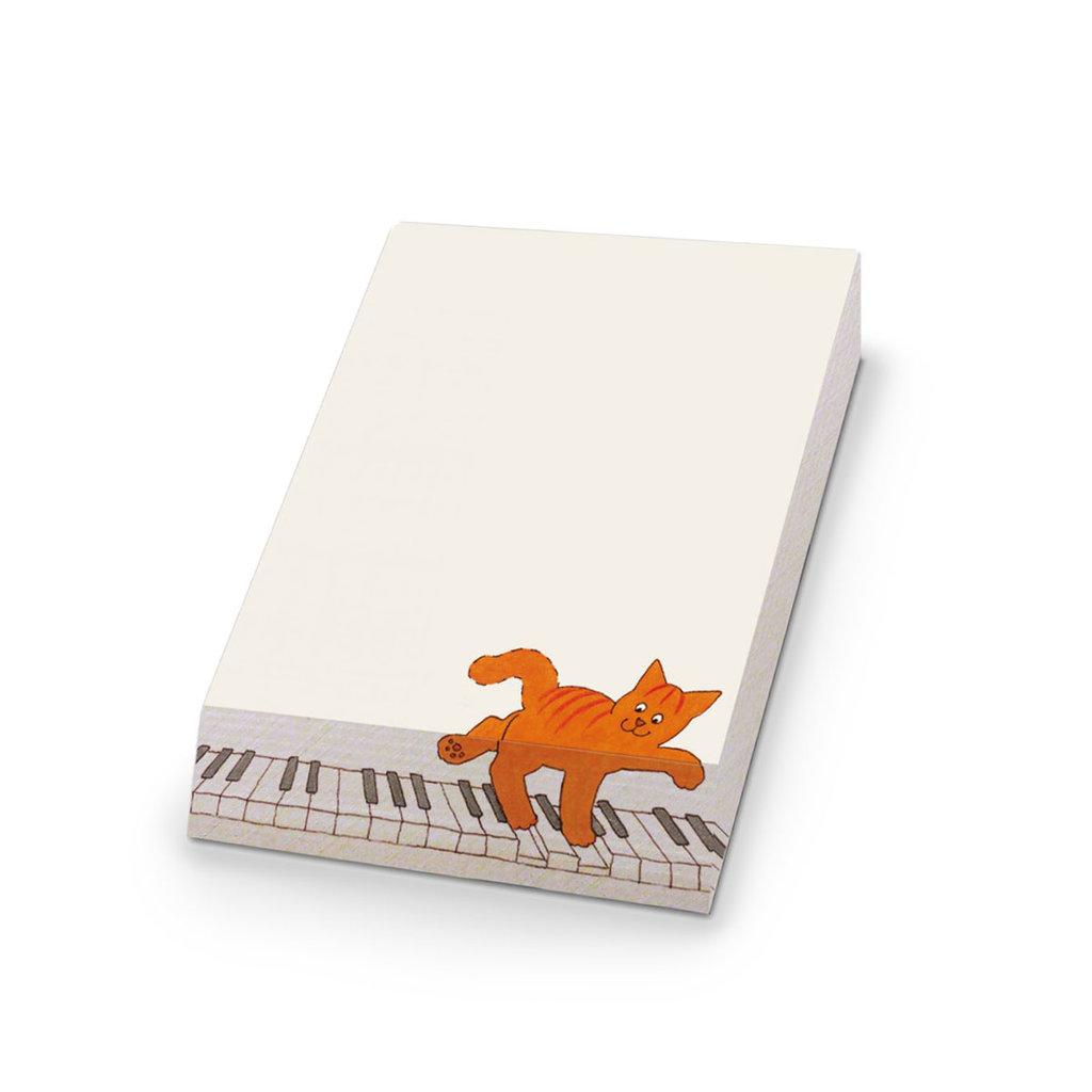 Bekking & Blitz Dikkie Dik notitieblok, 'Piano'
