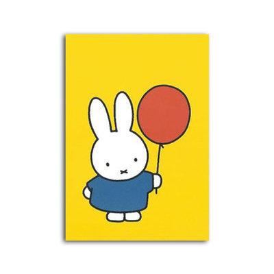 Bekking & Blitz Nijntje met ballon Enkele kaart