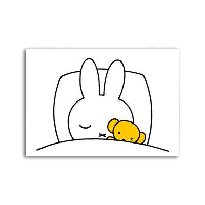 Bekking & Blitz Nijntje - Nijntje slaapt ansichtkaart