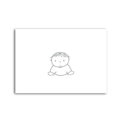 Bekking & Blitz Dick Bruna - 'Baby' ansichtkaart