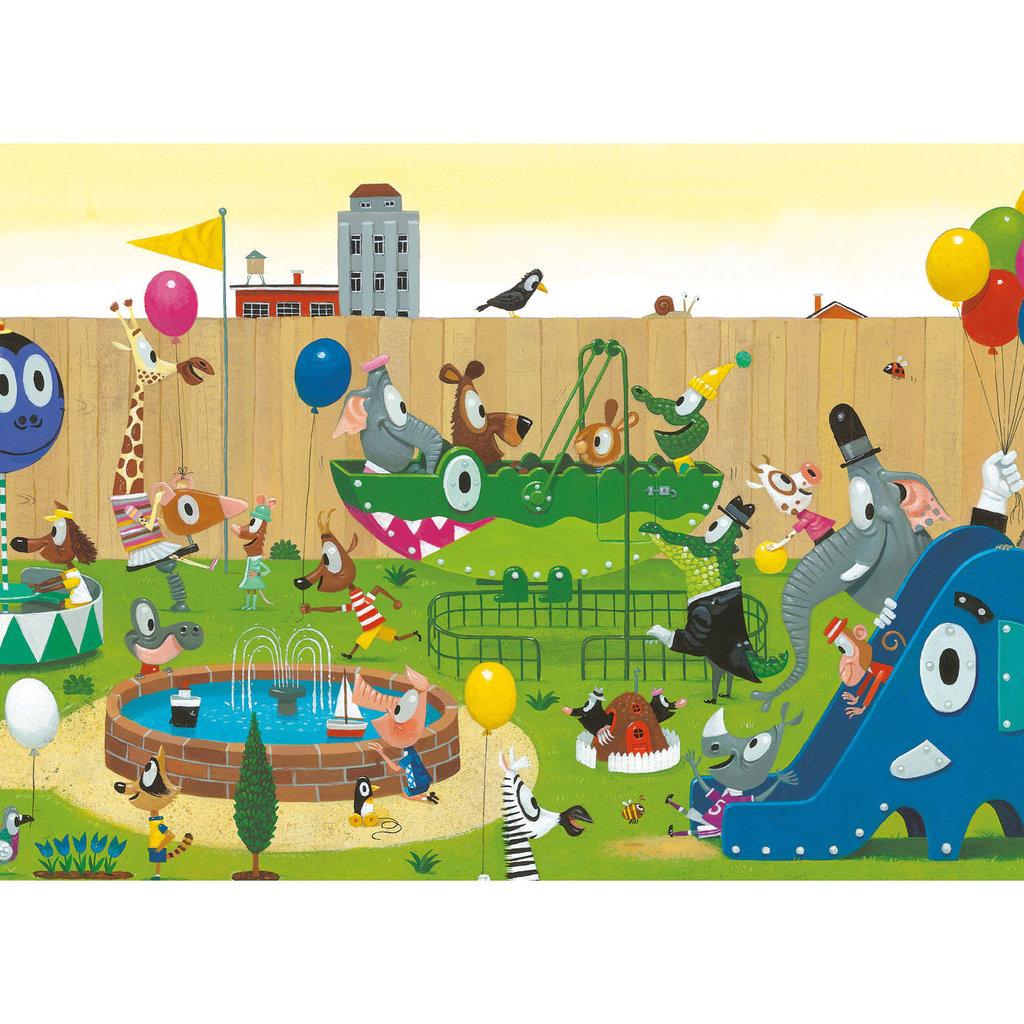 Kek Amsterdam Fotobehang 'Playground'  - Leo Timmers - 8 banen