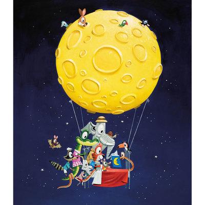 Kek Amsterdam Fotobehang 'Hot Air Balloon' - Leo Timmers