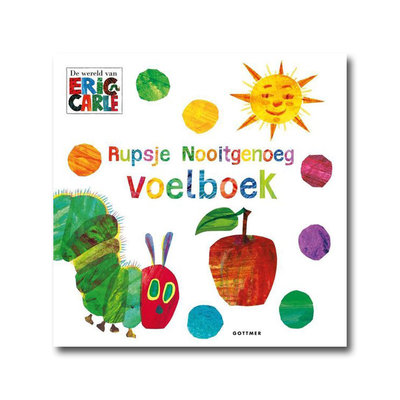 Gottmer Rupsje Nooitgenoeg - Voelboek - Eric Carle
