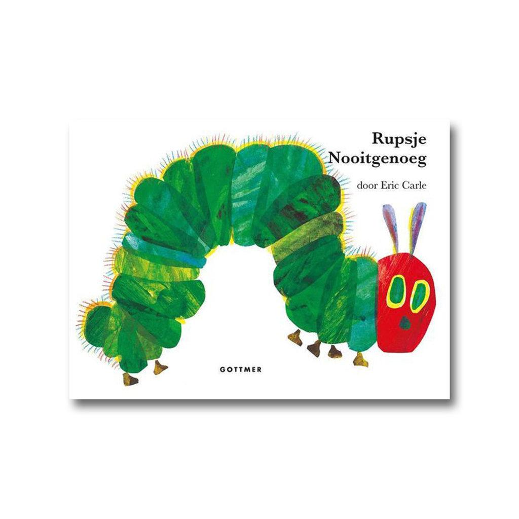 Gottmer Rupsje Nooitgenoeg - Kartonboek groot - Eric Carle