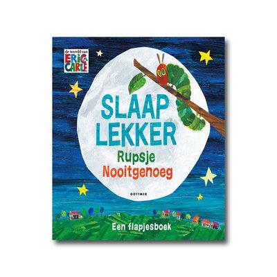 Gottmer Slaap lekker Rupsje Nooitgenoeg - Flapjesboek - Eric Carle