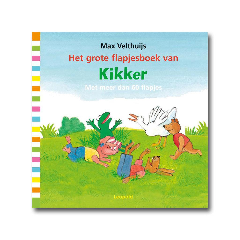Leopold Het grote flapjesboek van Kikker - Max Velthuijs