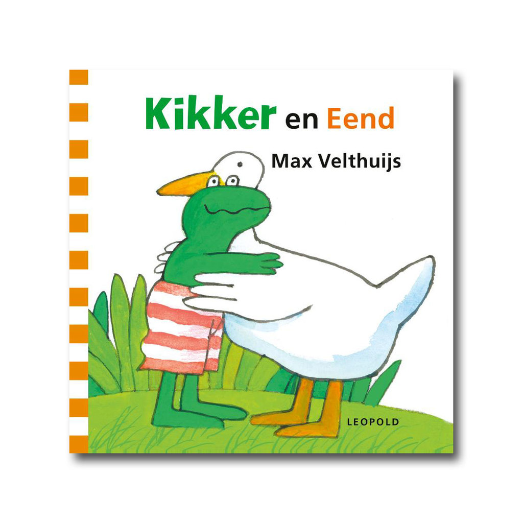 Leopold Kikker en Eend - Max Velthuijs
