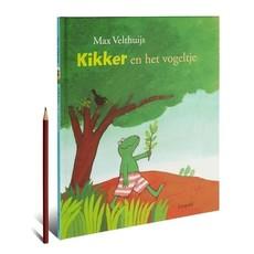 Leopold Kikker en het vogeltje - Max Velthuijs