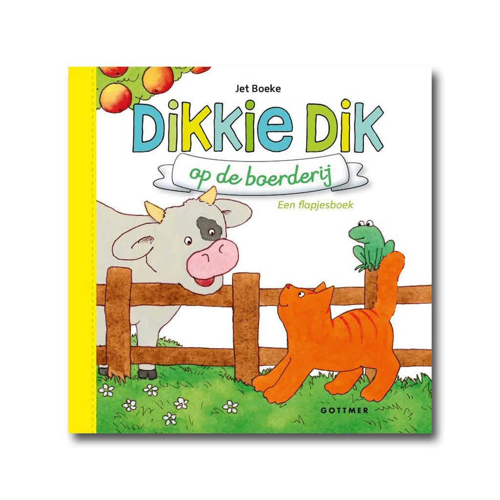 Gottmer Dikkie Dik op de boerderij - Flapjesboek - Jet Boeke