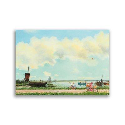 Bekking & Blitz Holland op z'n mooist, Charlotte Dematons ansichtkaart