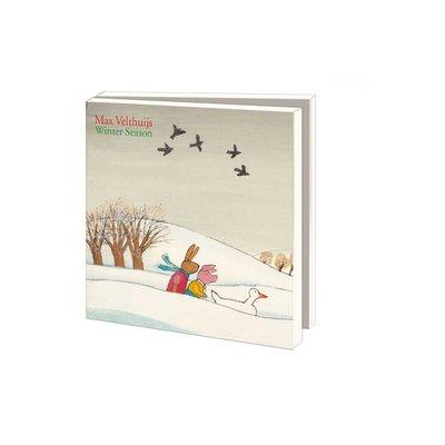 Bekking & Blitz Kerstkaartenmapje Kikker - Max Velthuijs