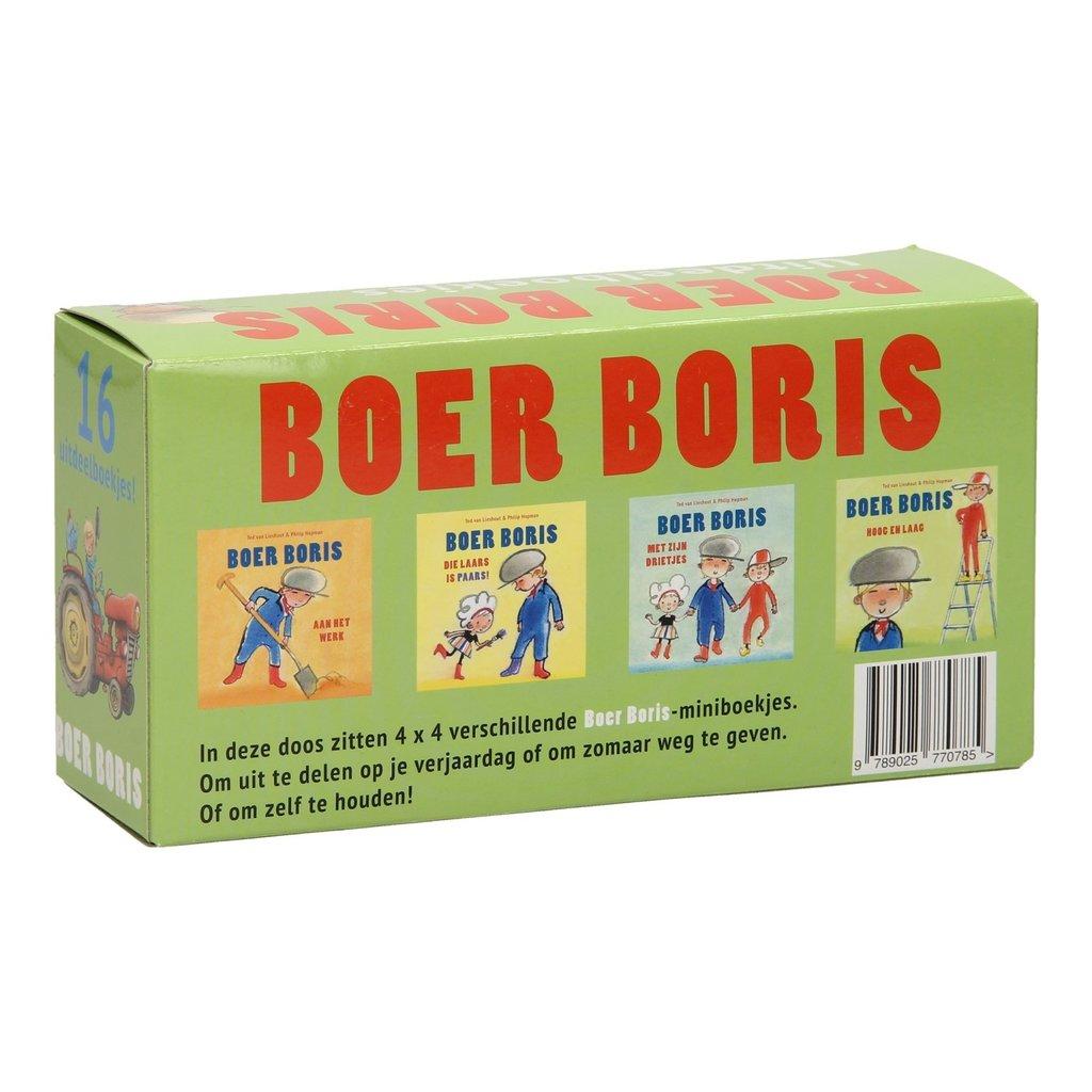 Gottmer Boer Boris uitdeelboekjes - 16 stuks - Ted van Lieshout