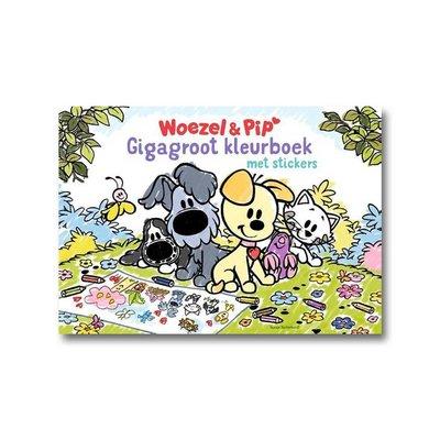 Dromenjager Woezel en Pip - Gigagroot Kleurboek