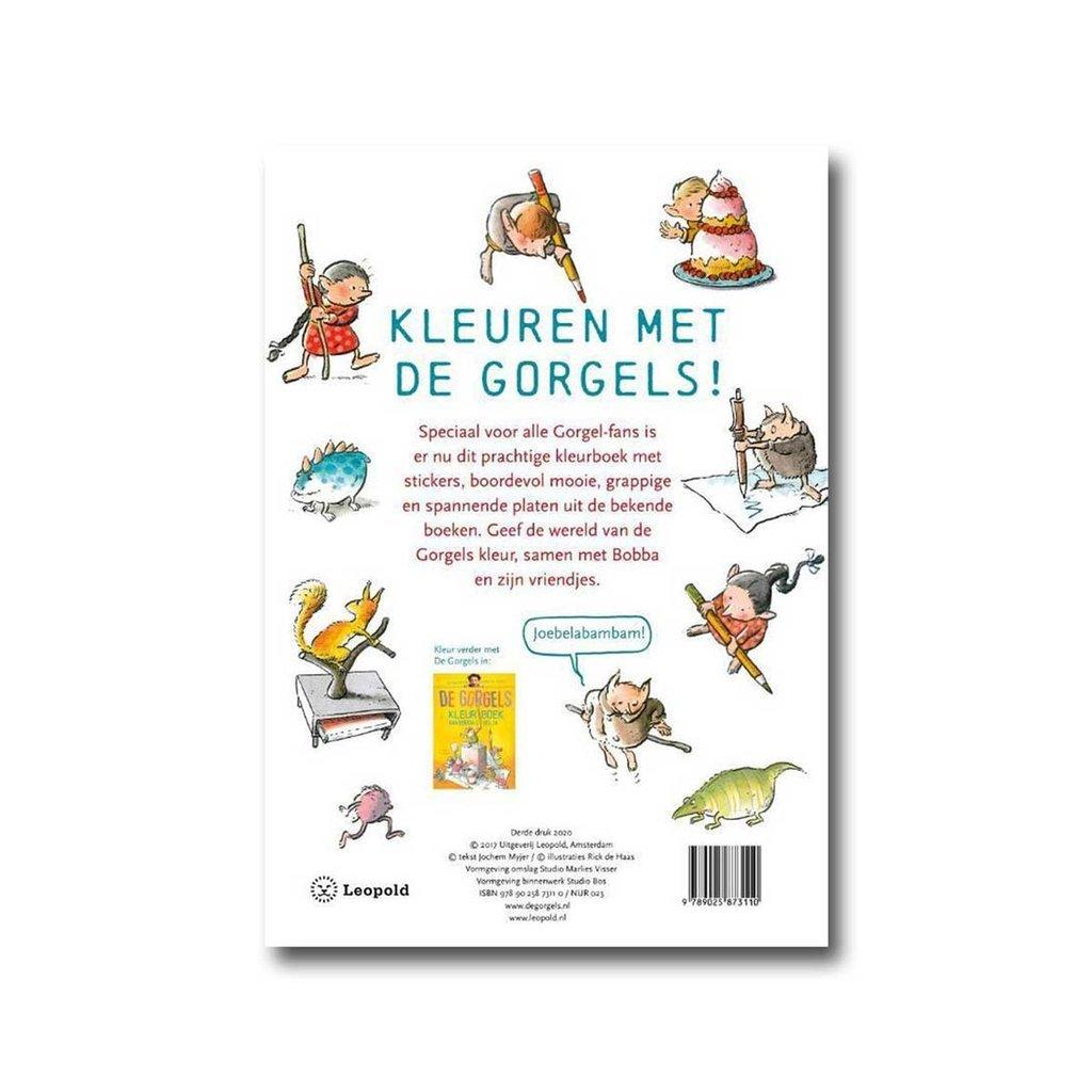 Leopold De Gorgels Kleurboek - Jochem Myjer