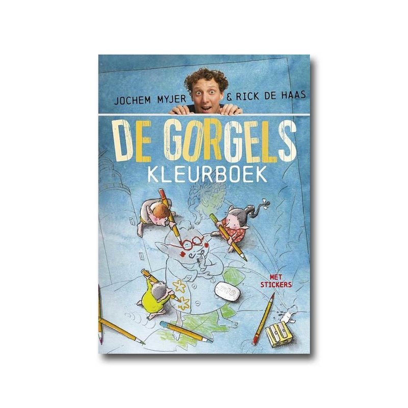 Leopold De Gorgels Kleurboek