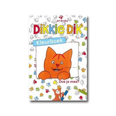 Gottmer Dikkie Dik kleurboek