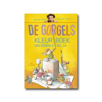 Leopold De Gorgels Kleurboek van Bobba en Belia