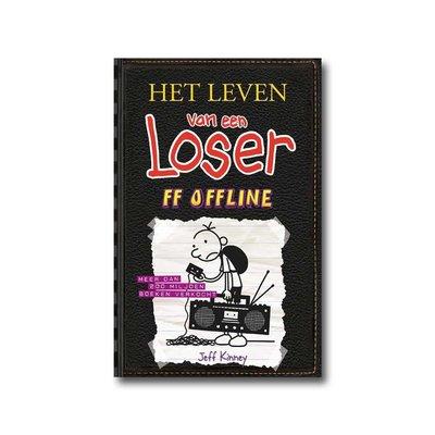 de Fontein Jeugd Het leven van een Loser 10, 'Ff offline' - Jeff Kinney