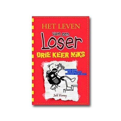de Fontein Jeugd Het leven van een Loser 11, 'Drie keer niks' - Jeff Kinney