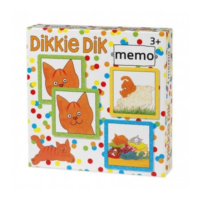Dikkie Dik Memory Spel