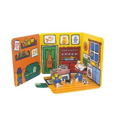 Leopold Muis - Het huis van Muis - Pop-up boek