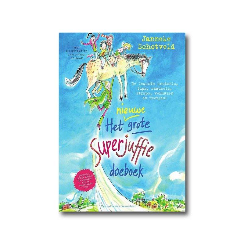 Van Holkema & Warendorf Superjuffie - Het nieuwe grote Superjuffie doeboek - Janneke Schotveld