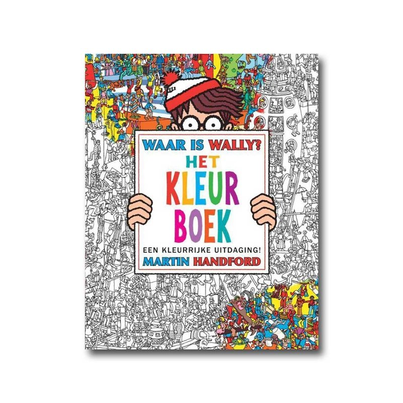 Memphis Waar is Wally? - Het Kleurboek