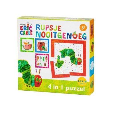 Bambolino Rupsje Nooitgenoeg 4-in1-puzzel