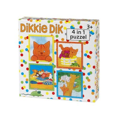 Bambolino Dikkie Dik  4-in1-puzzel