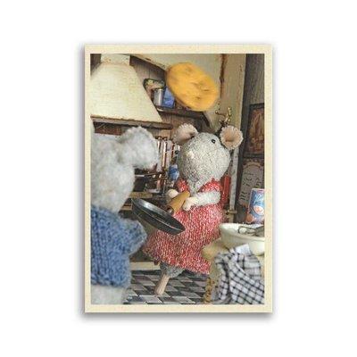 Bekking & Blitz Muizenhuis - pannenkoeken, ansichtkaart