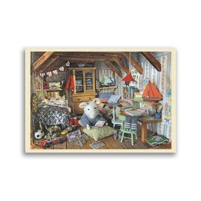 Bekking & Blitz Muizenhuis - kinderkamer, ansichtkaart