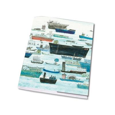 Bekking & Blitz Schriftje A5, 'Het gelukkige eiland' - Marit Tornqvist
